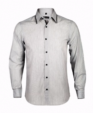 10567 SOL'S Baxter Long Sleeve Contrast Fitted Shirt